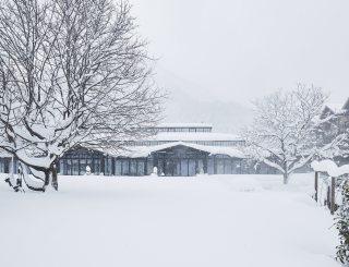 Hotel der Wiesenhof Außenansicht Winter © David Schreyer
