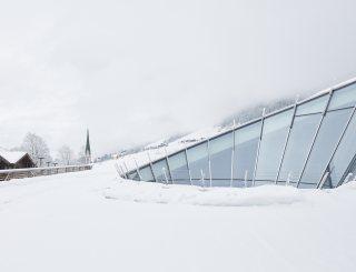 Congress Centrum Alpbach Außenansicht Winter © David Schreyer