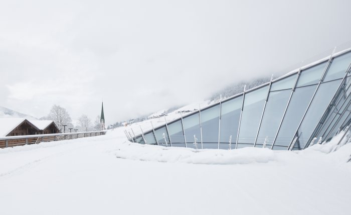 Congress Centrum Alpbach Außenansicht Winter © David Schreyer