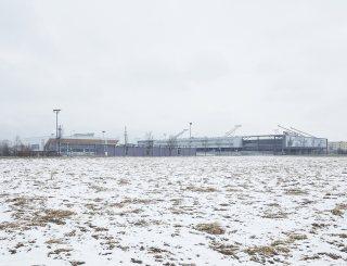 Olympiaworld Innsbruck Außenansicht Winter © David Schreyer