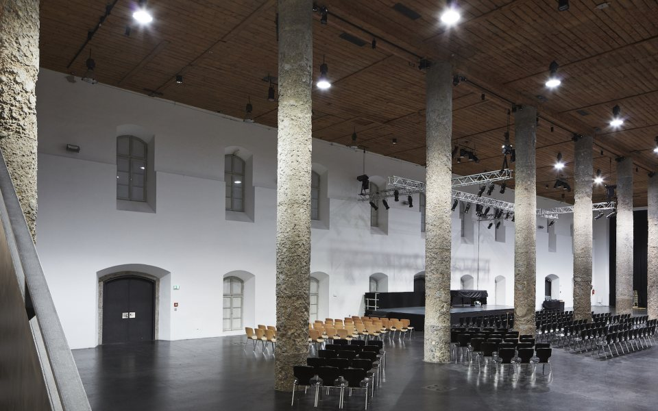 SALZRAUM.Hall livelocations Veranstaltungssaal © David Schreyer