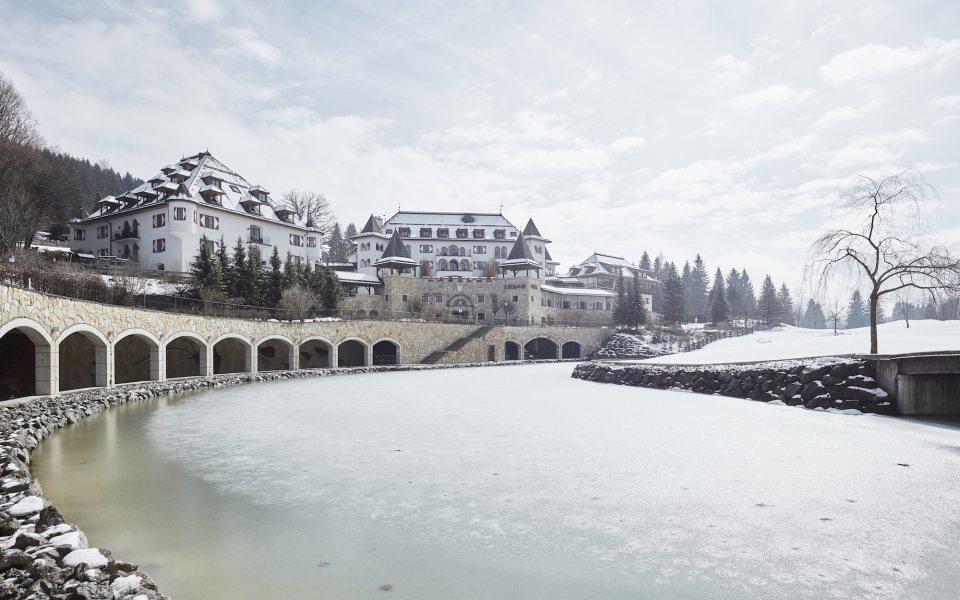 A-ROSA Kitzbühel Außenansicht Winter © David Schreyer