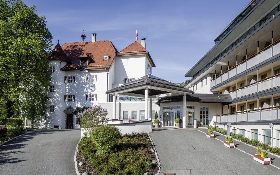 Außenansicht - Lebenberg Schlosshotel Kitzbühel