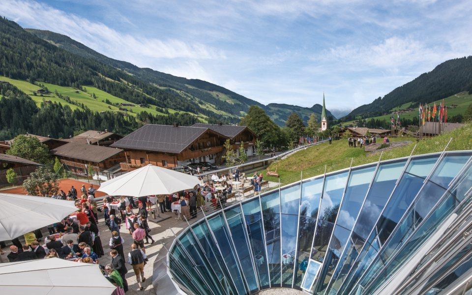 CCA Dorf - Congress Centrum Alpbach © Senfter