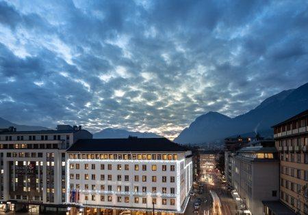 Außenansicht © Grand Hotel Europa
