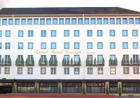 Grand Hotel Europa Außenansicht