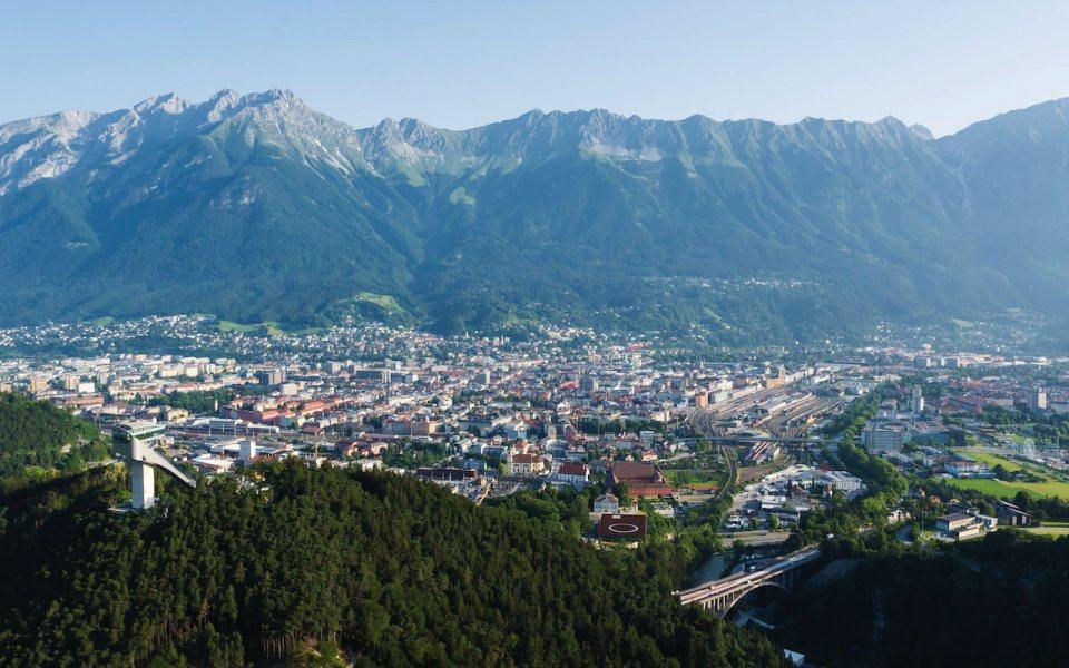 Innsbruck Tourismus - Blick auf Innsbruck