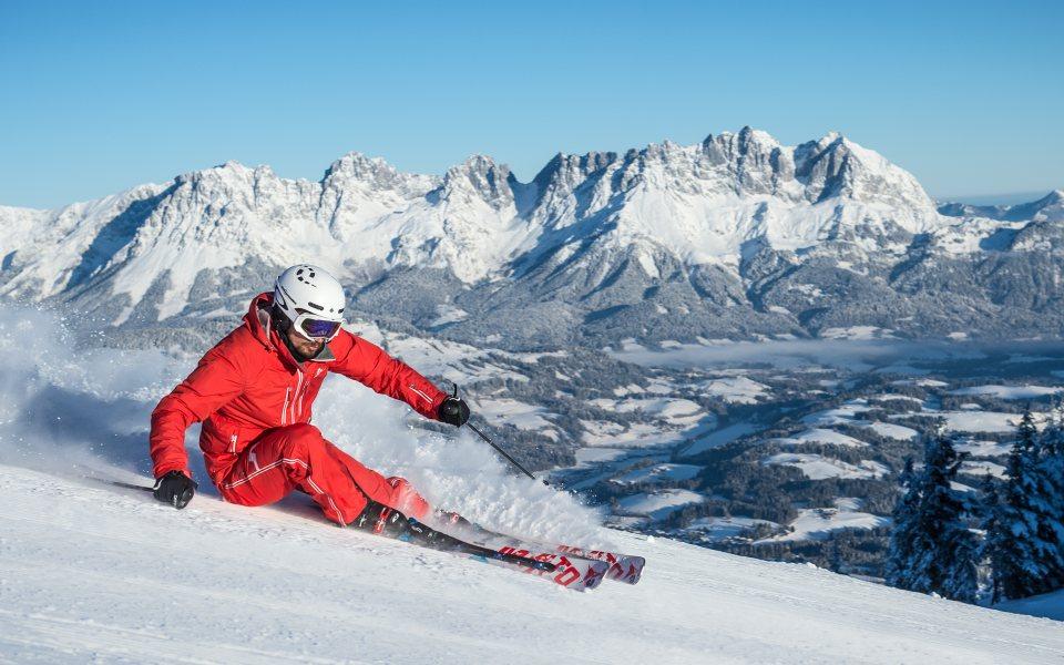 Schifahren - Kitzbühel - © Michael Werlberger