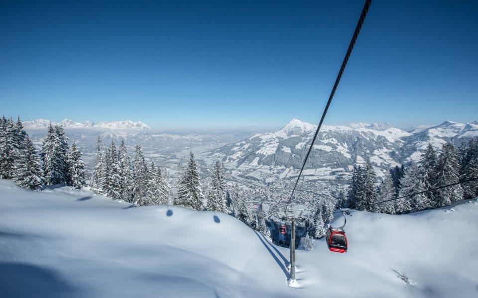 Skigebiet - Kitzbühel - © Michael Werlberger