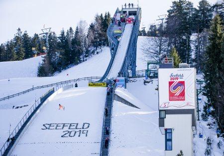 Nordische SkiWM Arena 2019 - Olympiaregion Seefeld
