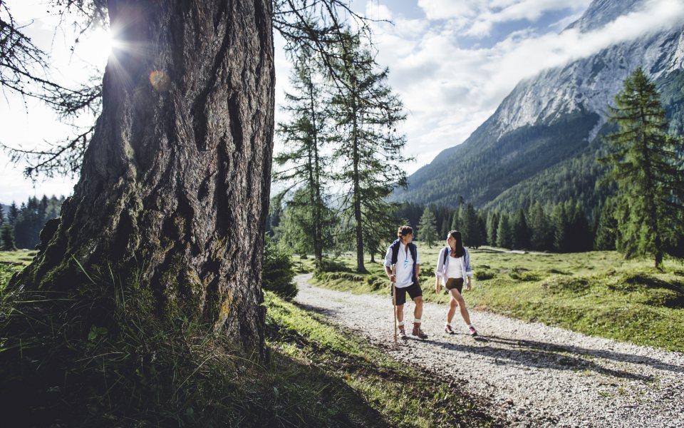 Wandern im Gaistal - Olympiaregion Seefeld