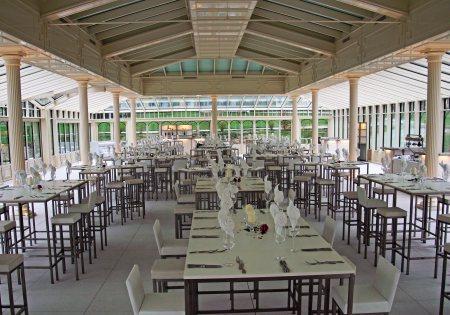 Ganze Fläche bestuhlt- Romantik Hotel der Wiesenhof