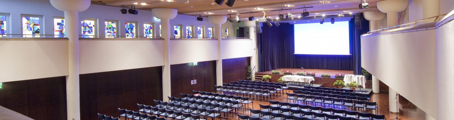 Kurhaus Großer Saal - Salzraum.Hall © Irene Ascher