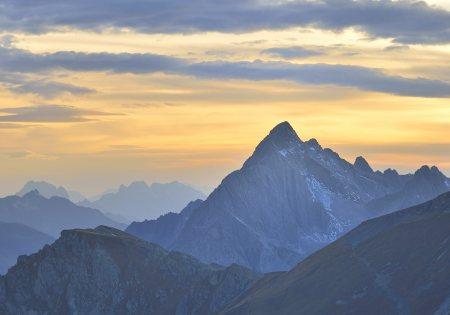 Sonnenuntergang - St. Anton am Arlberg