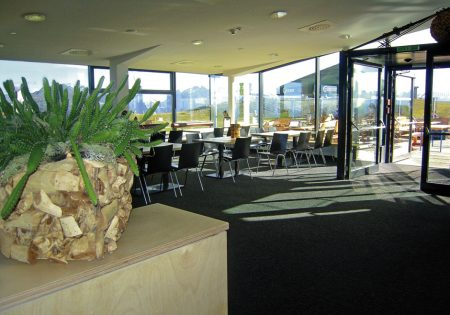 Panoramarestaurant - Venet Gipfelhütte © Klotz Martin
