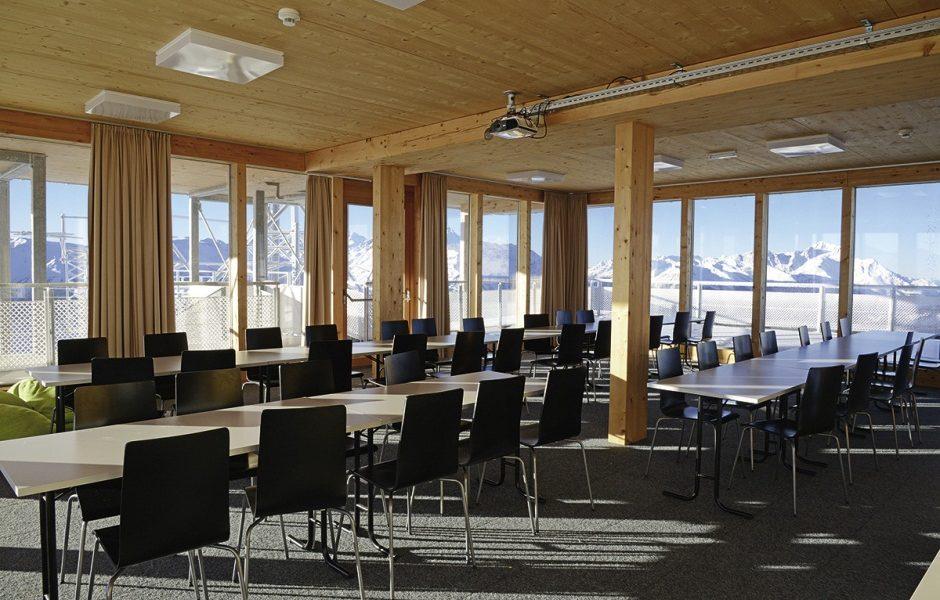 Seminarraum groß - Venet Gipfelhütte © Klotz Martin