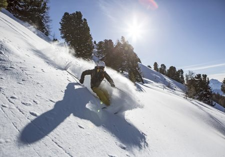 Skifahren - Venet Gipfelhütte © Daniel Zangerl