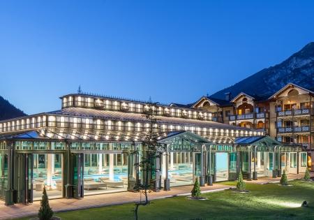 Badehaus Außenansicht - Romantik Hotel der Wiesenhof