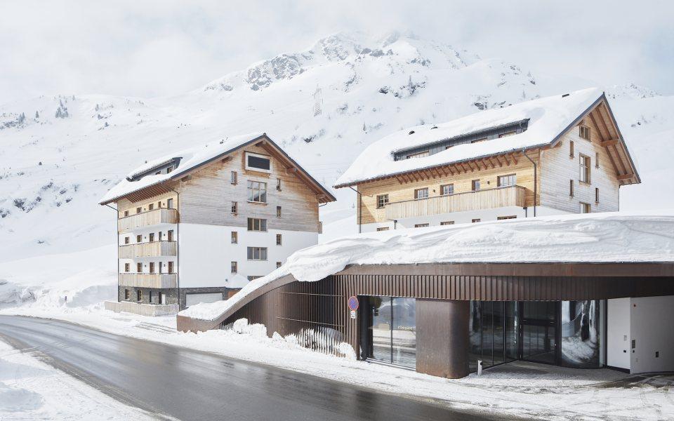 Außenansicht Winter - arlberg1800 © David Schreyer