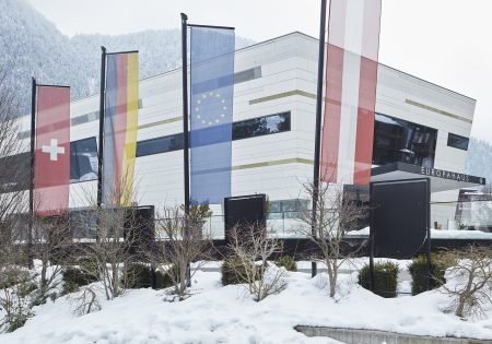 Congress Zillertal - Europahaus Mayrhofen Außenansicht winter© David Schreyer
