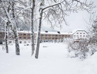 Außenansicht Winter - Fürstenhaus Am Achensee © David Schreyer