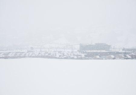 Außenansicht Winter - FeuerWerk © David Schreyer