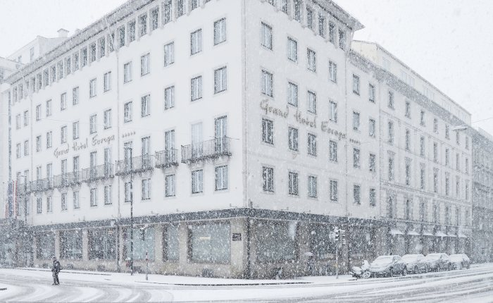 Außenansicht Winter - Grand Hotel Europa - © David Schreyer