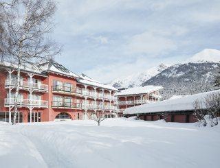 Außenansicht Winter - Das Hotel Eden © David Schreyer