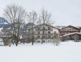 Außenansicht Winter - Kitzhof © David Schreyer