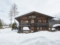 Almhütte Winter - Hotel Lärchenhof © David Schreyer