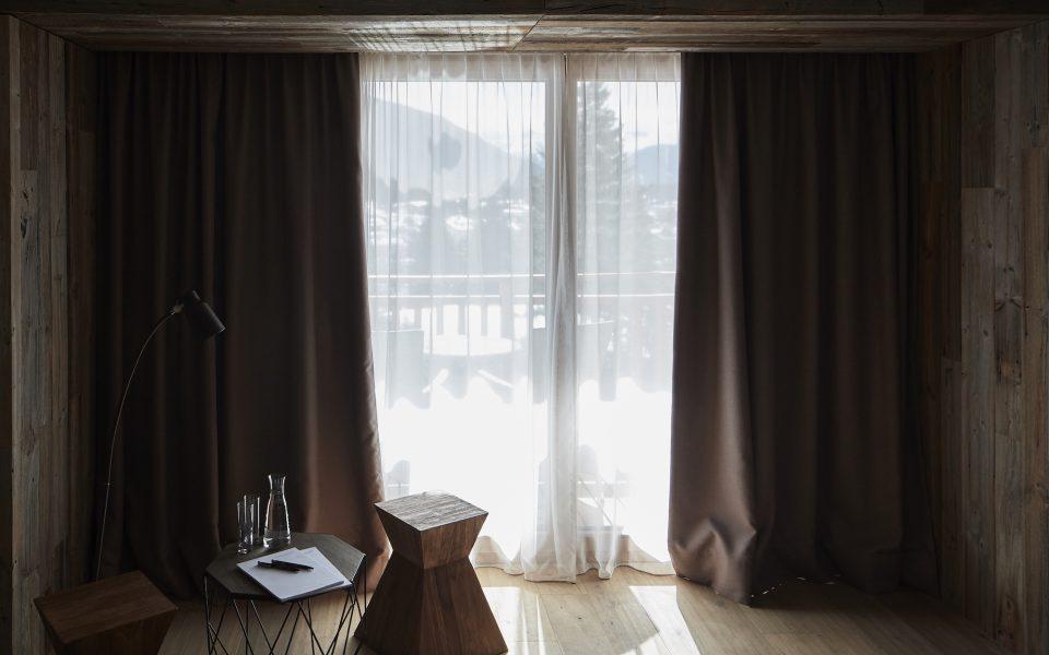 Zimmer Aussicht - Hotel Lärchenhof © David Schreyer