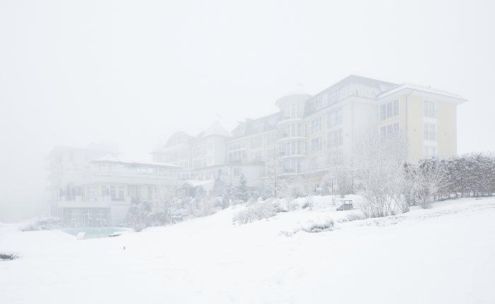 Außenansicht Winter - Panorama Royal © David Schreyer
