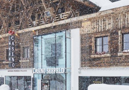 Außenansicht Winter - Casino Seefeld © David Schreyer