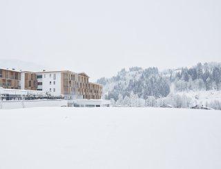 Außenansicht Winter - Sportresort Hohe Salve © David Schreyer