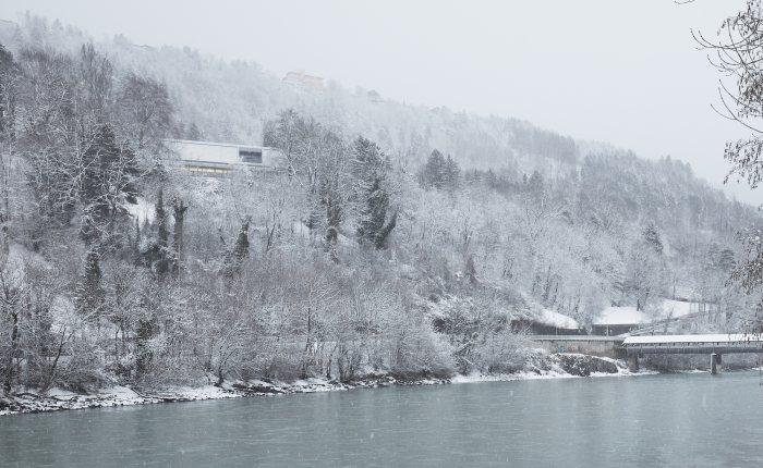 Außenansicht Winter - Villa Blanka © David Schreyer