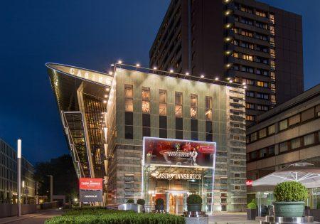 Casino Innsbruck Außenansicht Nacht