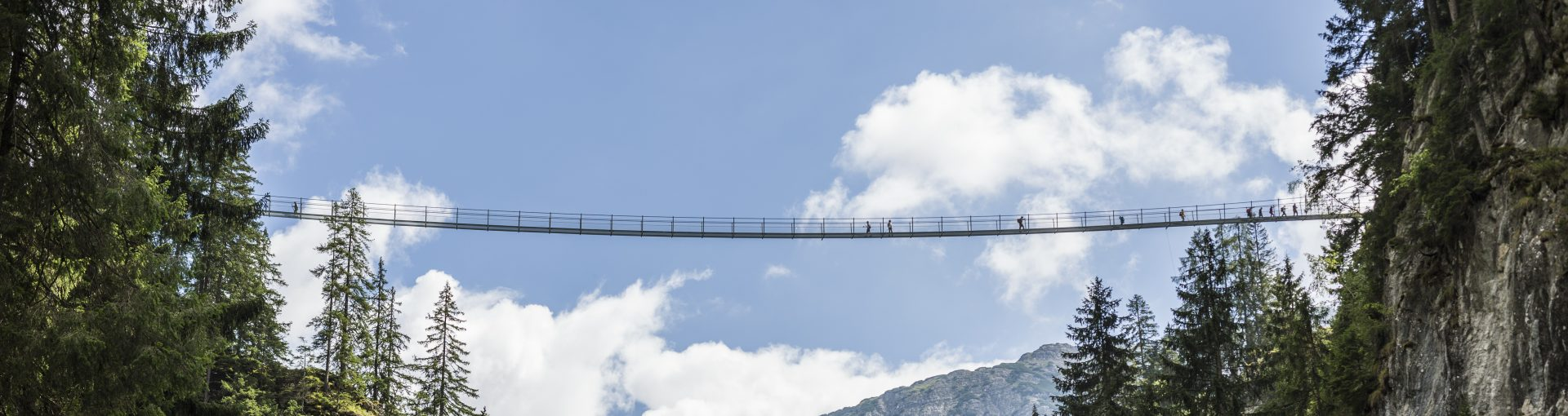 Hängebrücke Holzgau © Tirol Werbung