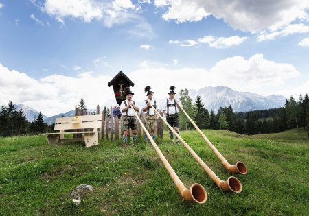 Alphorn © Alpin Convention