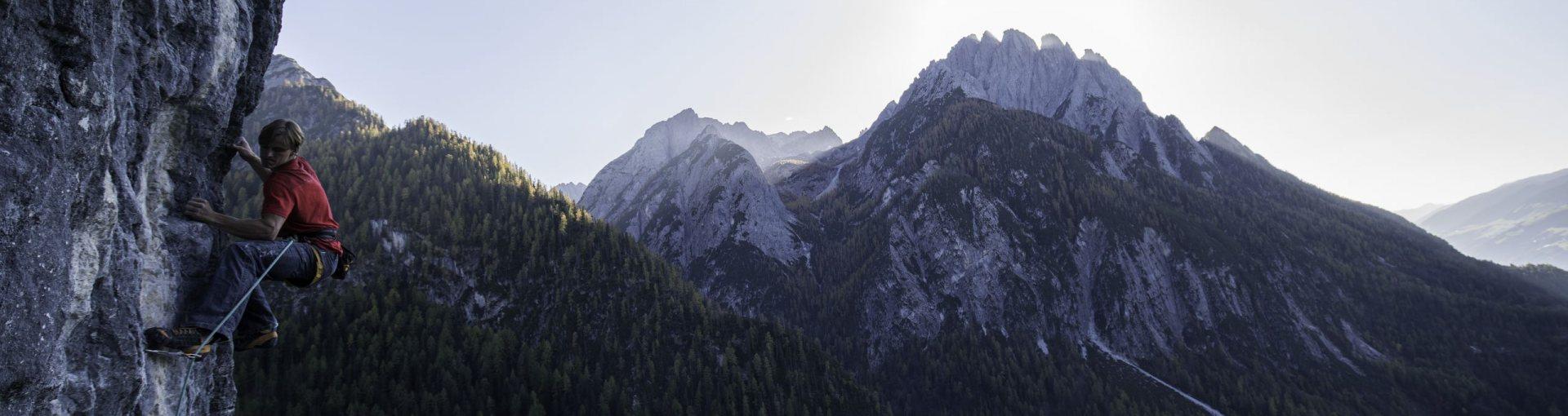 Klettern Osttirol © Tirol Werbung