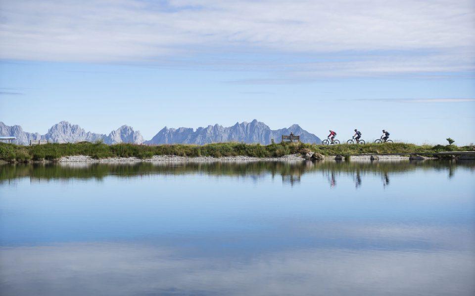 Kirchberg Bergsee © Tirol Werbung