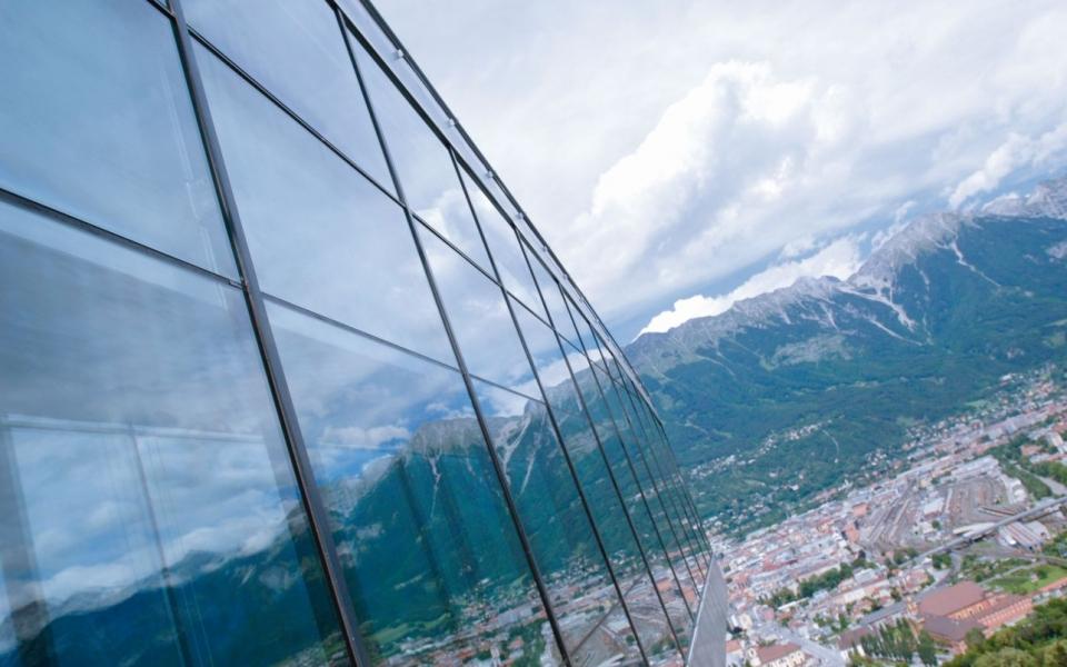Blick auf Innsbruck Standortagentur Tirol