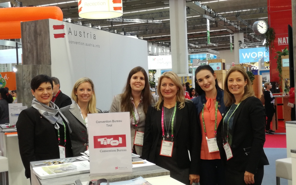 IMEX 2017 Team Convention Bureau Tirol