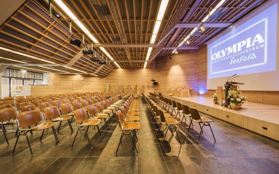 Olympia Sport- und Kongresszentum © Andre Schönherr