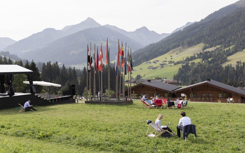 Forum Alpbach 2018 - Meetings auf der grünen Wiese © W9