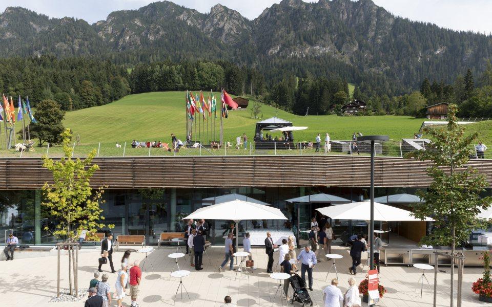 Forum Alpbach 2018 - Eingang CCA © W9