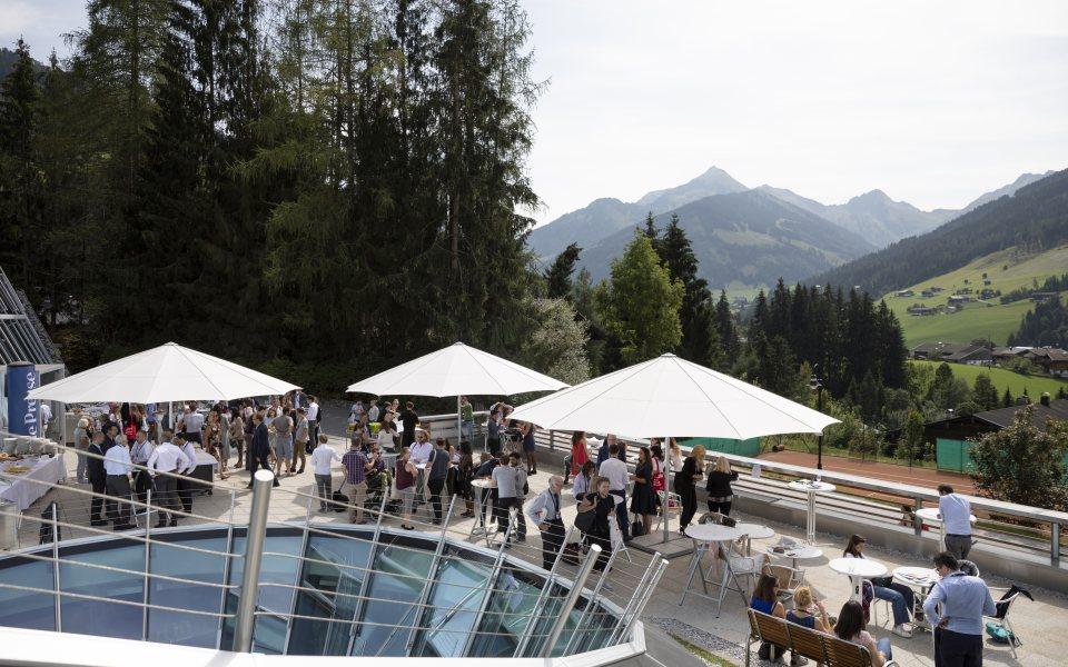 Forum Alpbach 2018 - Sonnenterrasse CCA © W9
