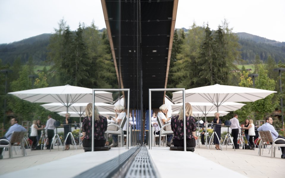Forum Alpbach 2018 - Meeting mit Tageslicht © W9