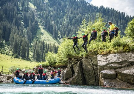 Rafting Verwall © TVB St. Anton am Arlberg