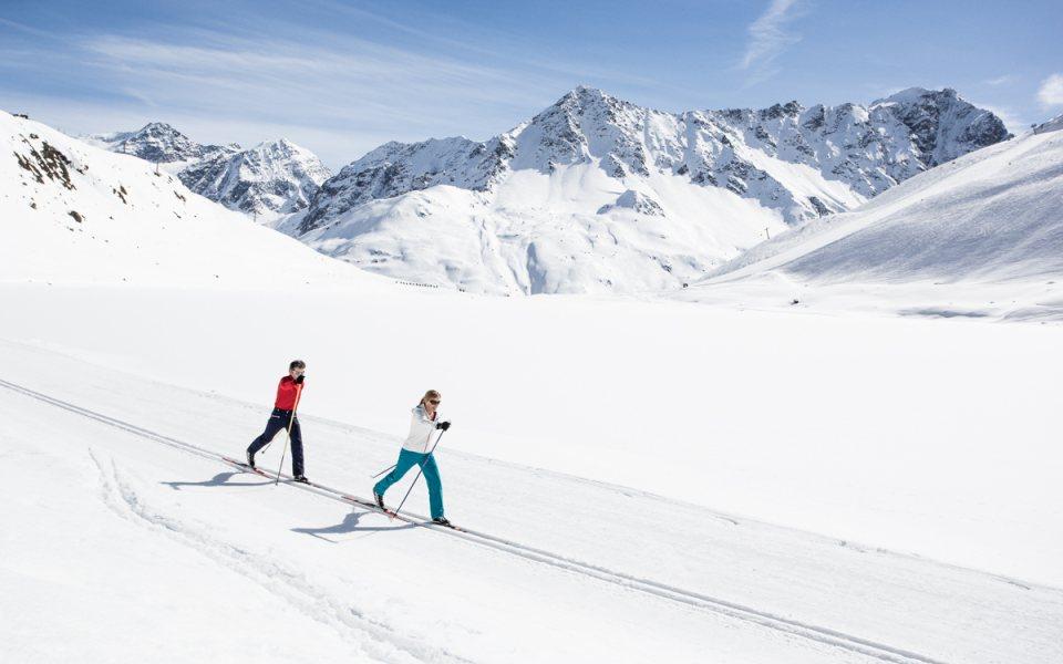 Langlaufen am Pitztaler Gletscher © Gletscherpark Pitztal