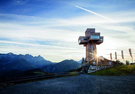 Jakobskreuz im Sommer© Bergbahnen Pillersee